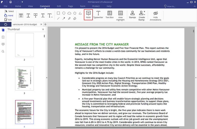 PDF Annotator for Windows and Mac OS X
