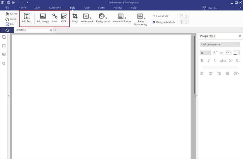 blank page pdf