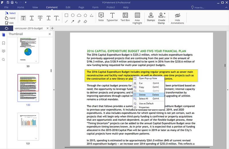 How to highlight text in PDF file on Windows and Mac