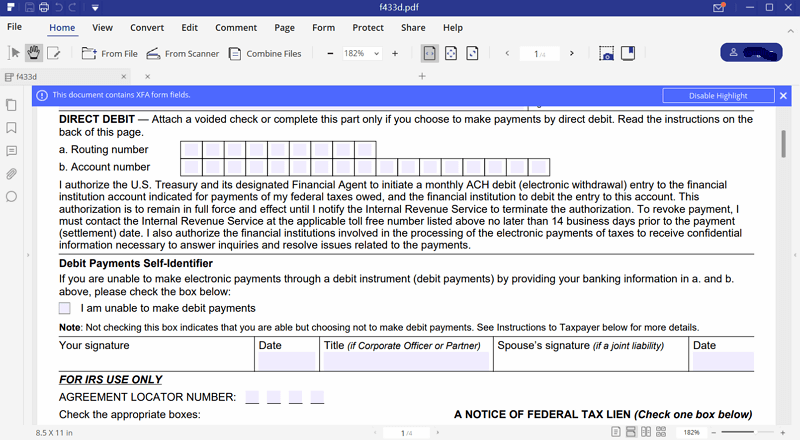 fill out a new tax file number declaration form