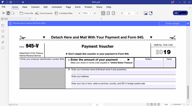 Irs form 945 the easiest way to fill it out irs form 945 falaconquin