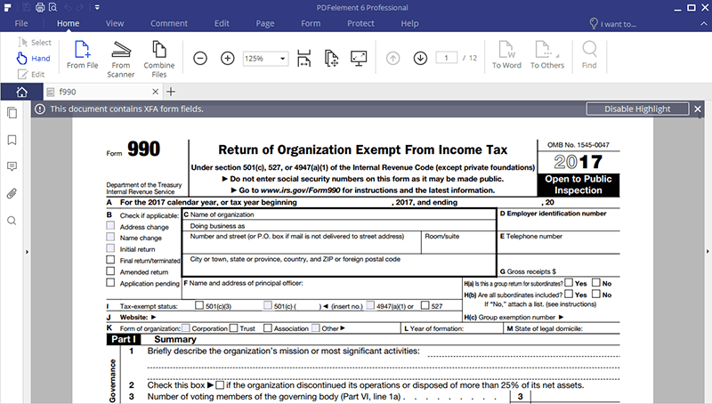 Irs Form 990 Ez Filling Instructions Before Working On It