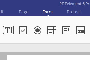 create pdf form windows 10