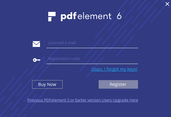 register pdfelement ocr