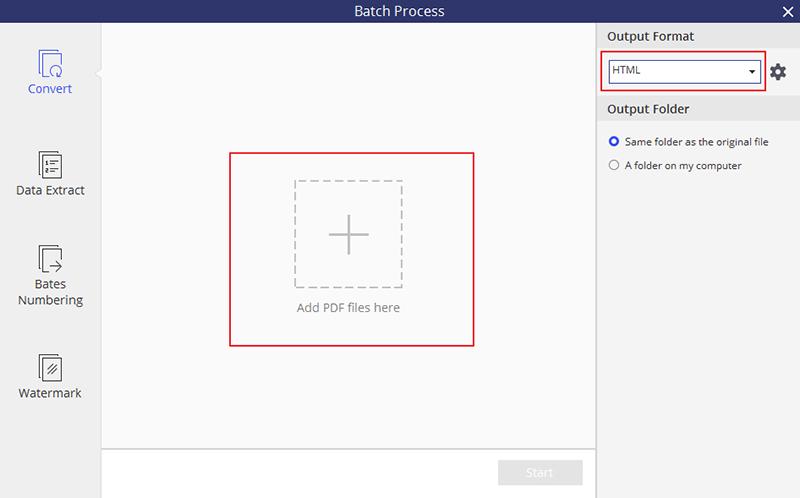 PDF in HTML anzeigen