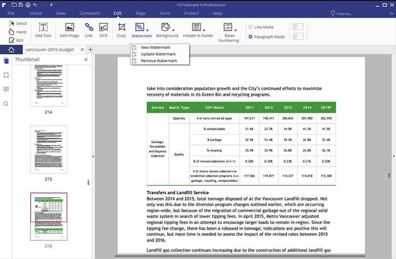 insert watermark pdf