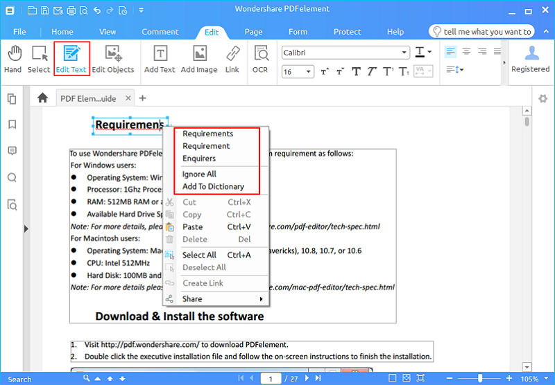 Wondershare pdf converter pro for windows user guide.