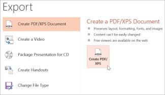 save ppt as pdf