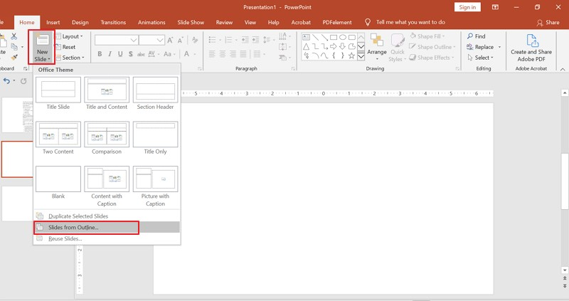word to ppt converter online