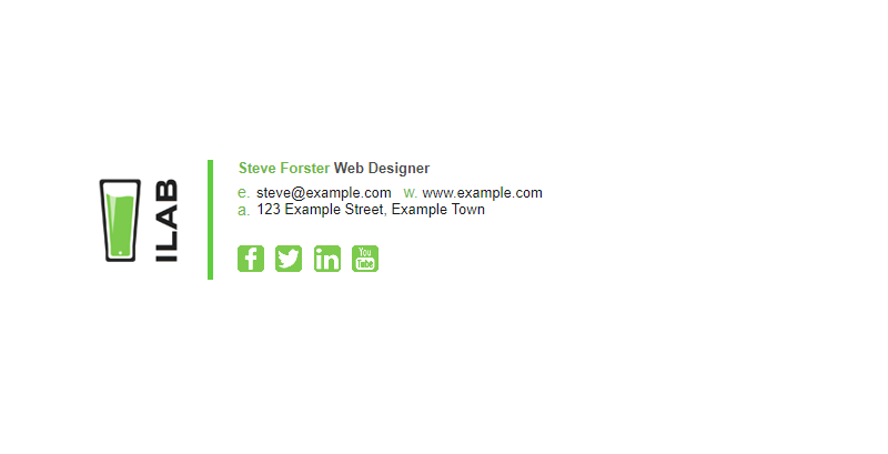 Top 3 Free Email Signature Templates For Gmail Wondershare Pdfelement