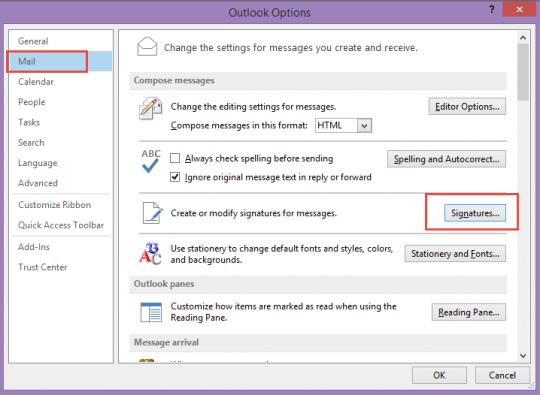 Email Signature Template Mac