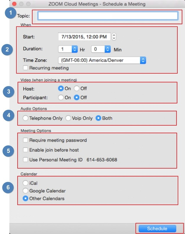 how to create a zoom meeting
