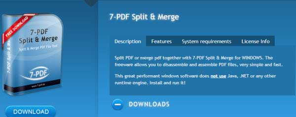 Split PDF Software
