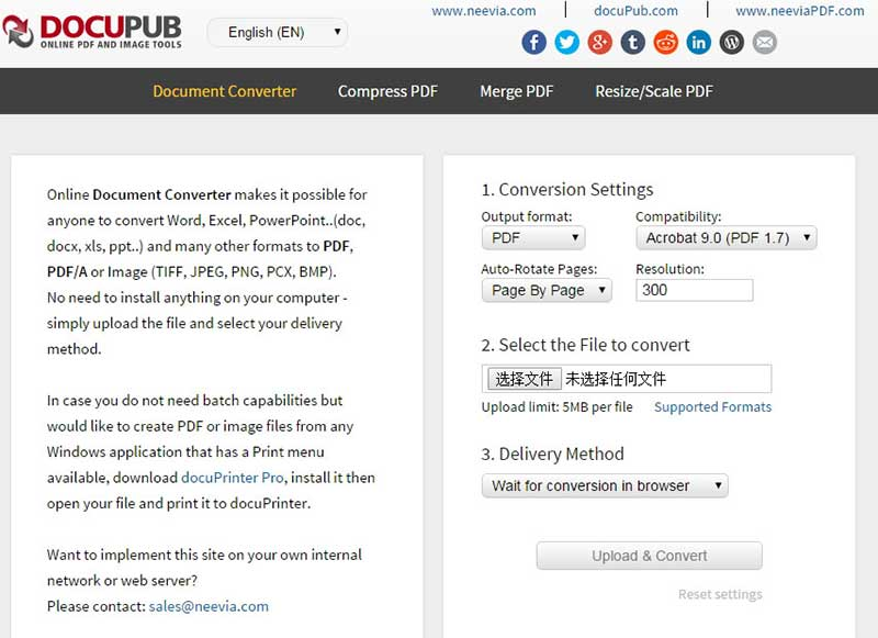 create pdf file online
