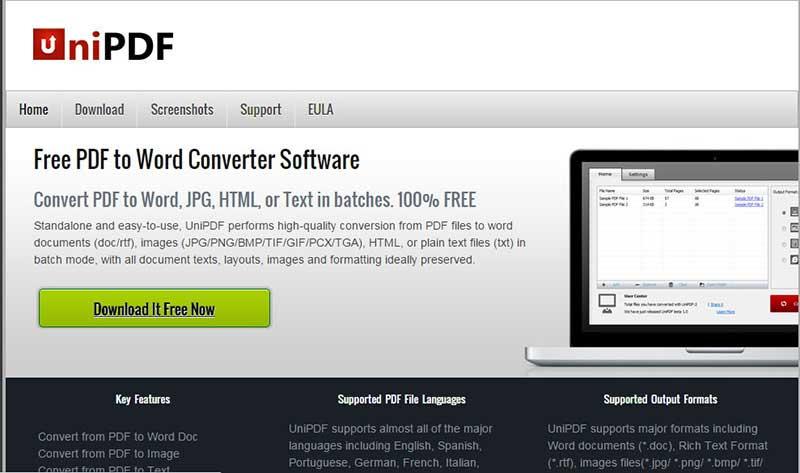 convertisseur pdf à word gratuit