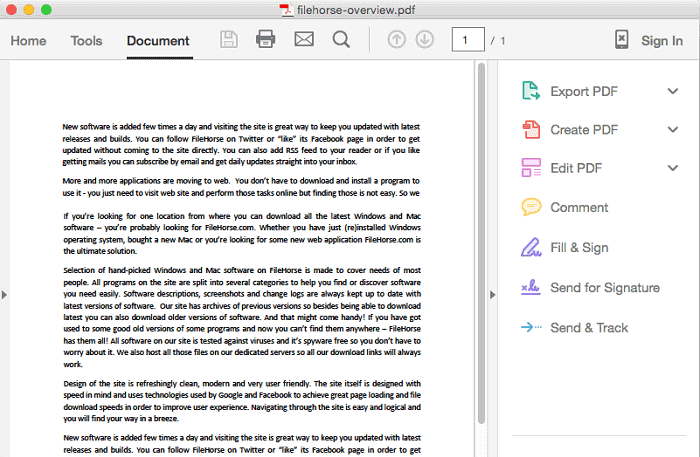 Part 1: Top 12 Best PDF Reader Tools for Mac