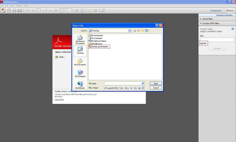combiner pdf adobe reader