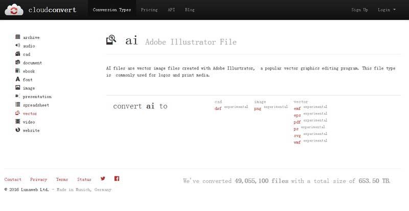 how to convert ai to pdf