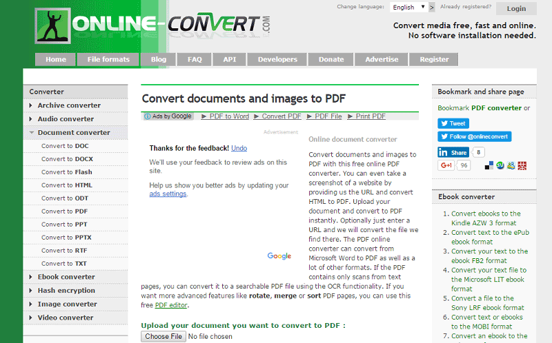 comment convertir un fichier texte en pdf sur windows