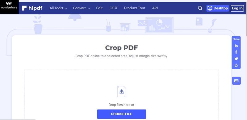 pdf image crop