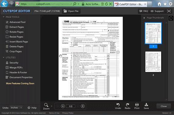 pdf cute editor