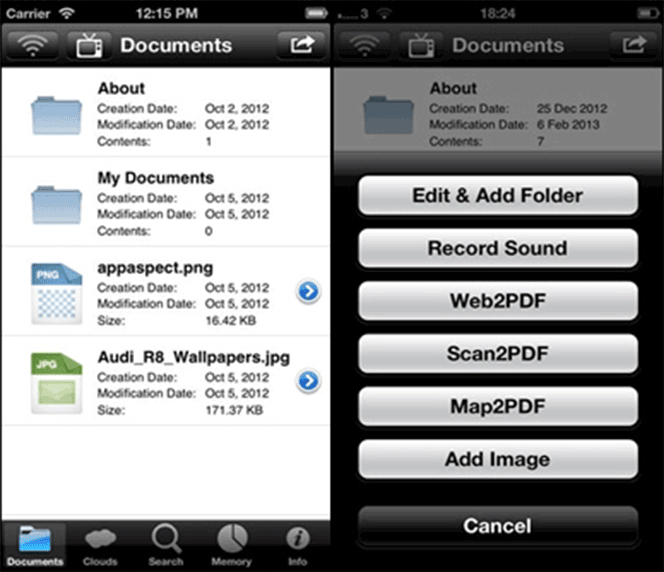 PDF Expert 5 fill out pdf on iphone