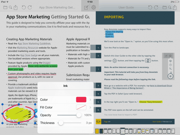 éditeur pdf application ipad
