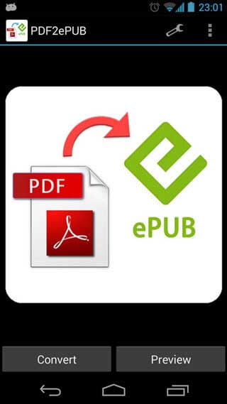 Top 5 Free Android PDF to ePUB Converters | Wondershare PDFelement