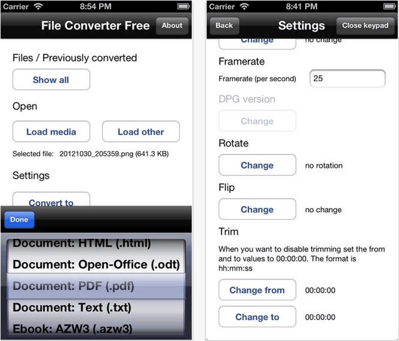 Transformer plusieurs fichiers JPEG en PDF