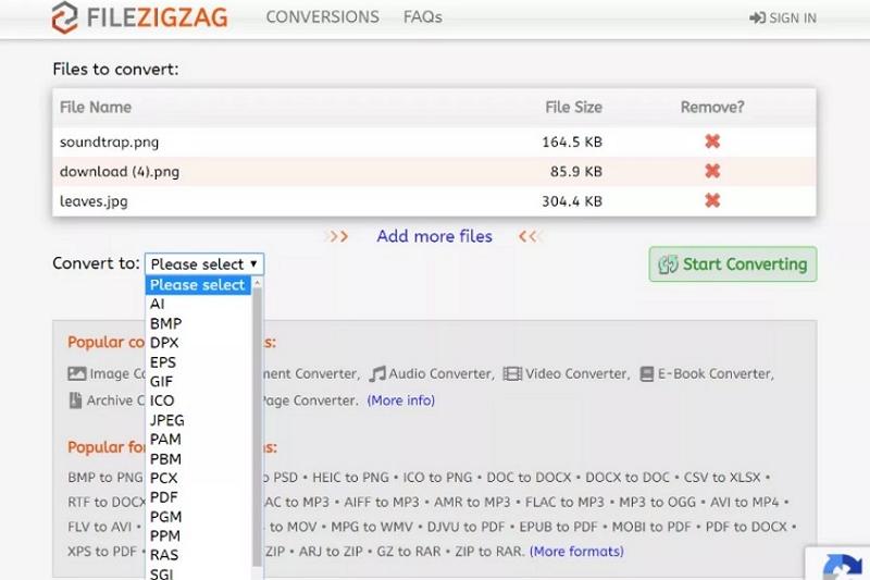 software di conversione da PDF a immagini