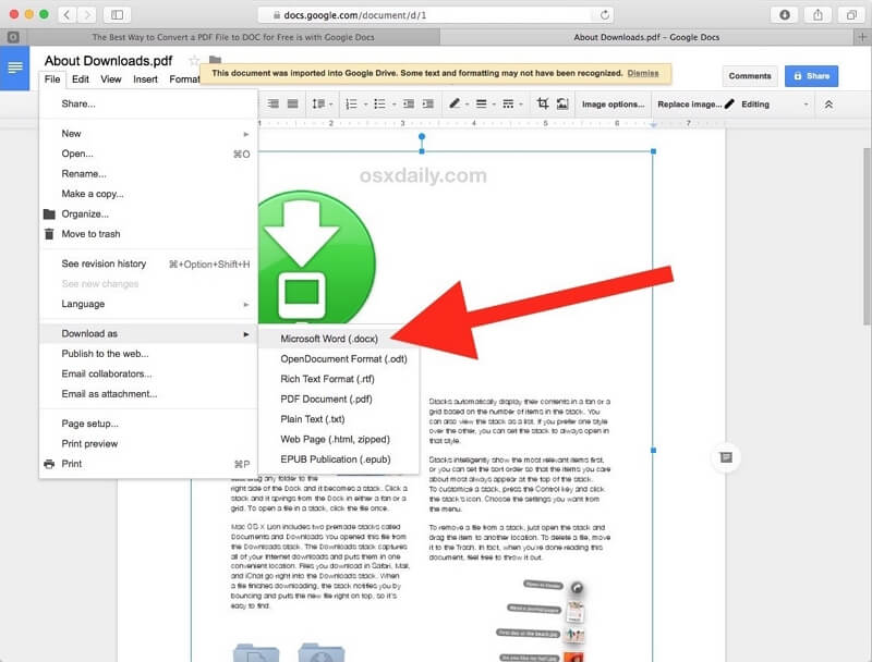 word to pdf for mac free download