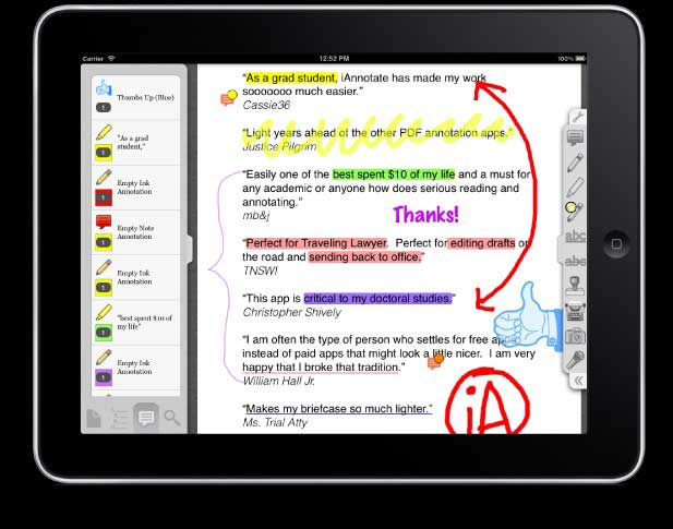 5 Best PDF Editor for iPad and iPhone