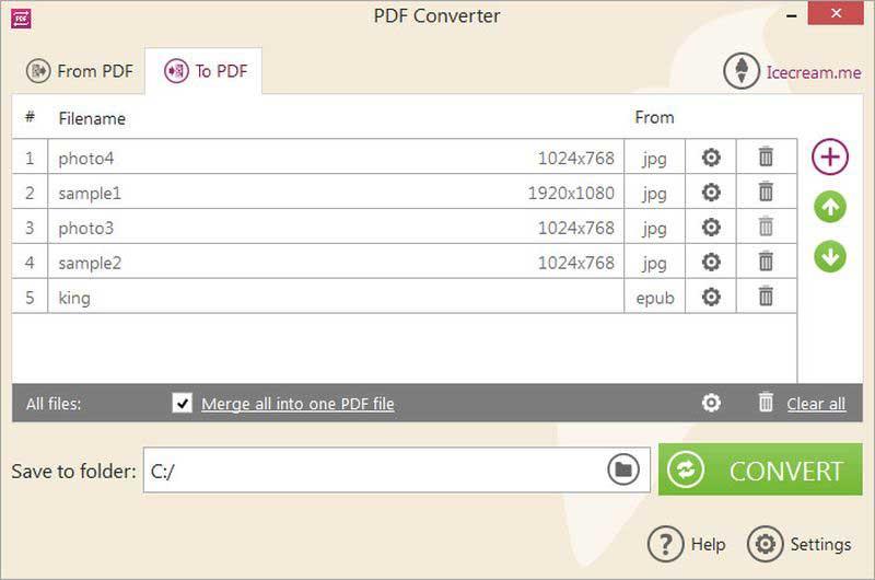 pdf zu tif Konverter
