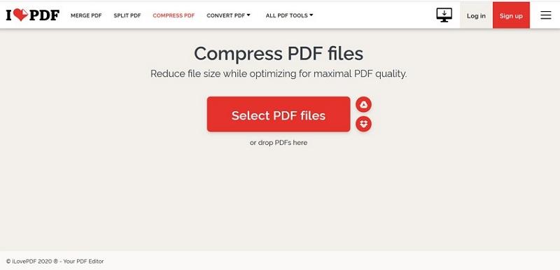 reduce pdf size free