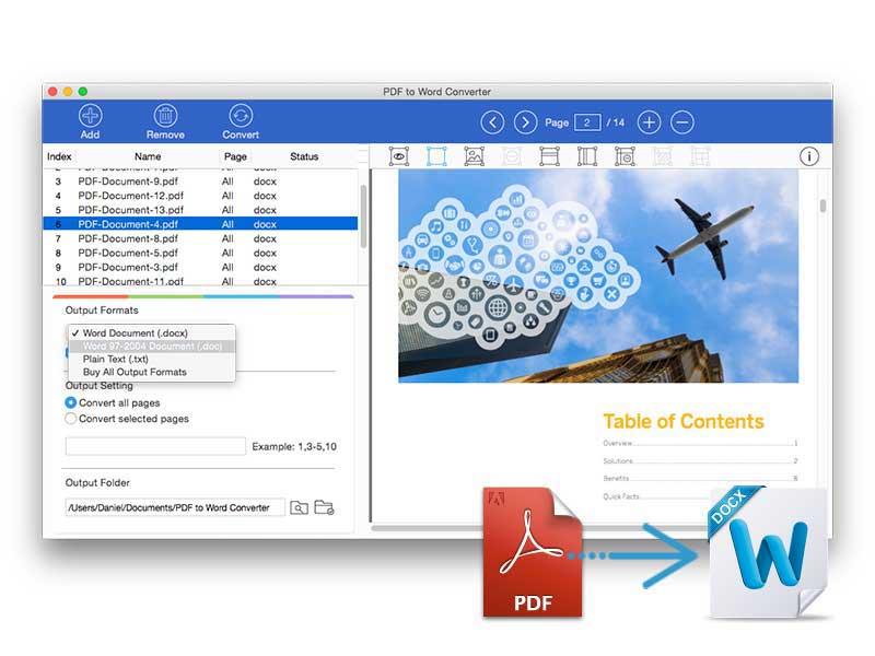 convertir pdf en word online