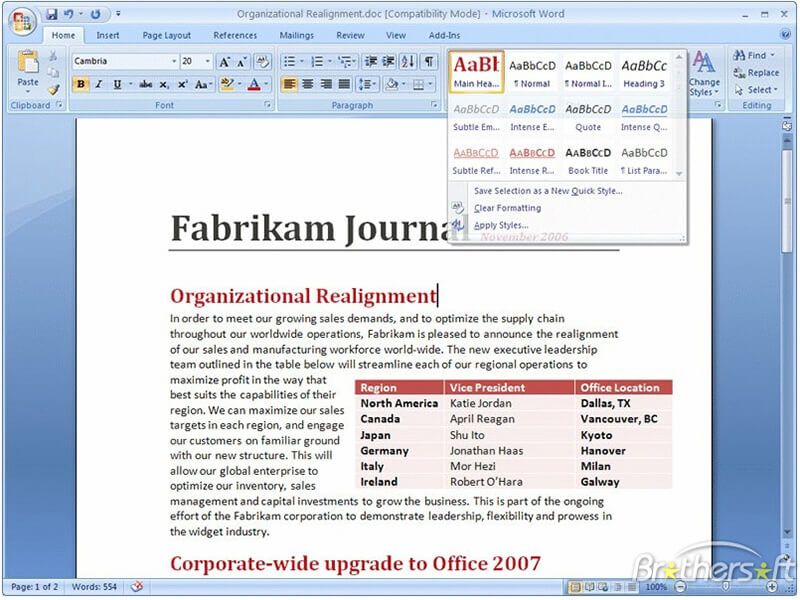 The best free alternative to Microsoft Word