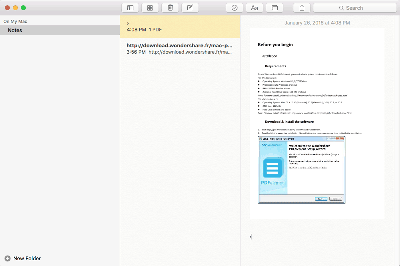 cannot save pdf on mac el capitan