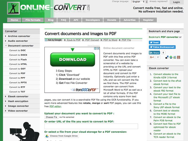Конвертируйте ваш текст в оптимизированный для электронных книг формат pdf с помощью