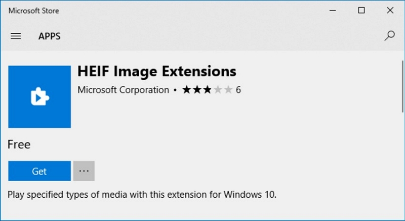 apri file windows heic