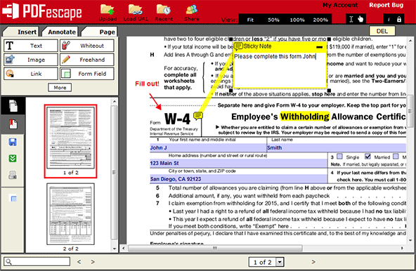 pdf editor Windows 10