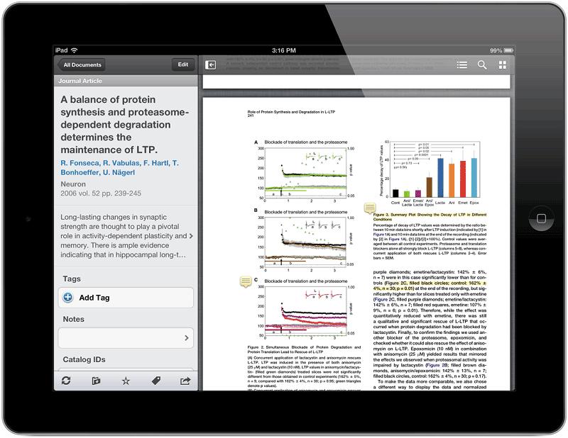 formatting pdf for ipad