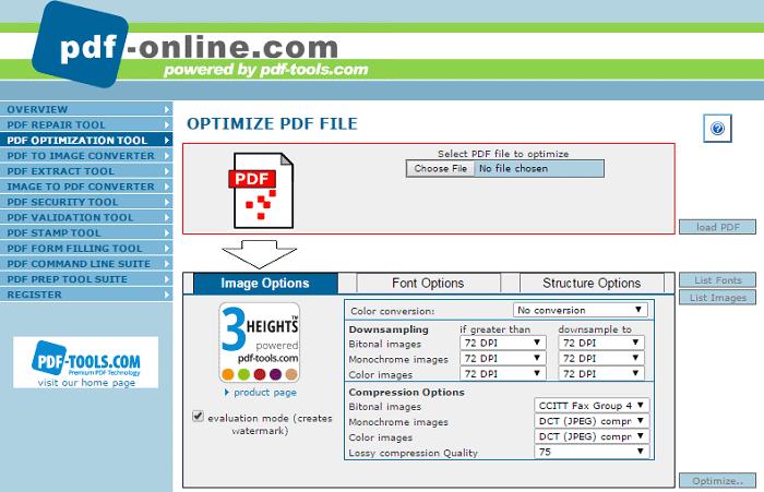 Pdf File Optimizer