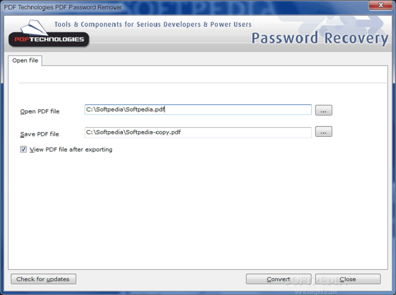 best pdf password remover