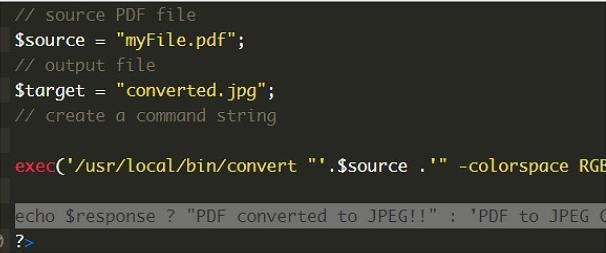 converti pdf in immagine usando php senza imagemagick