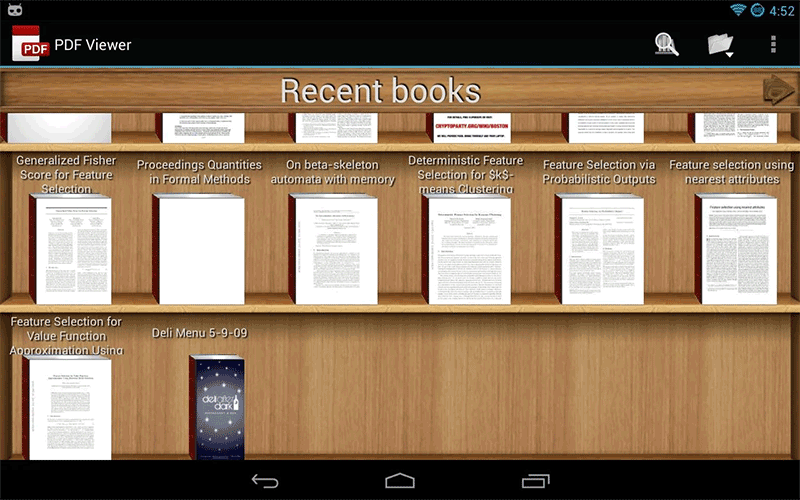how to get pdf files on android tablet