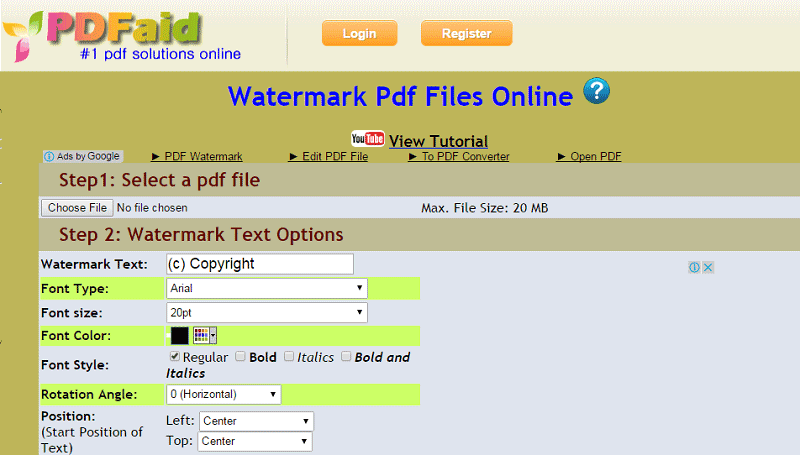 remove watermark from pdf online