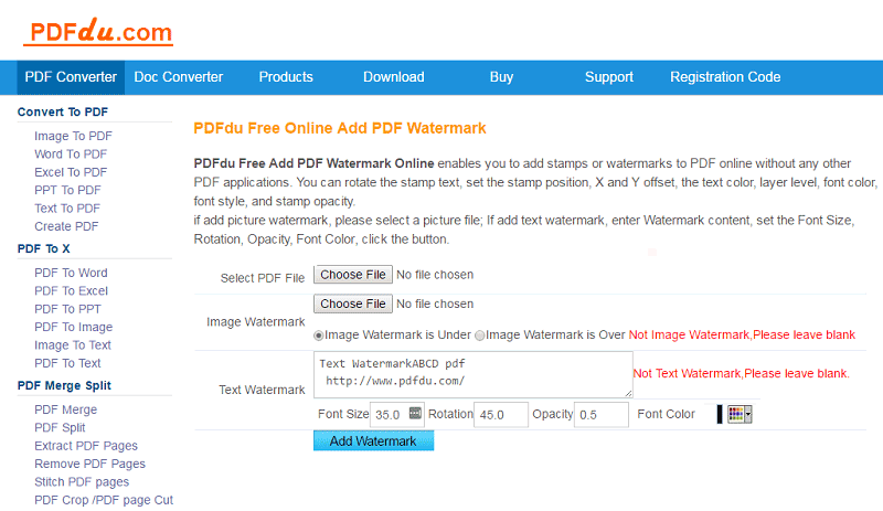 pdf watermark remover online