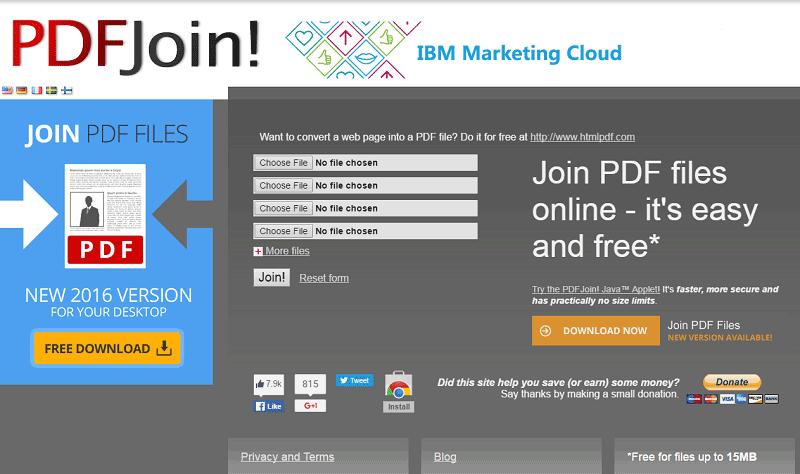 combiner pdf en ligne