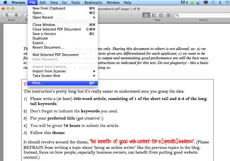 how to flatten pdf on mac
