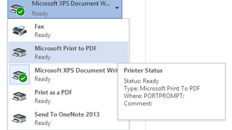 How to Use Microsoft Print to PDF in Word, Excel, PowerPoint